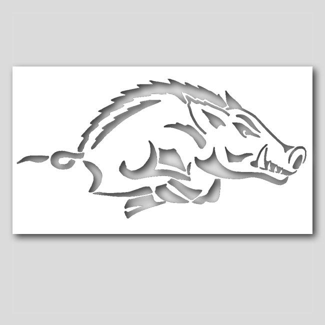 Boar hog stencil sp stencils